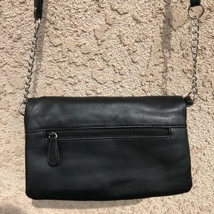 BAGGS Bags - BAGGS Leather Convertible Clutch/Crossbody NWOT